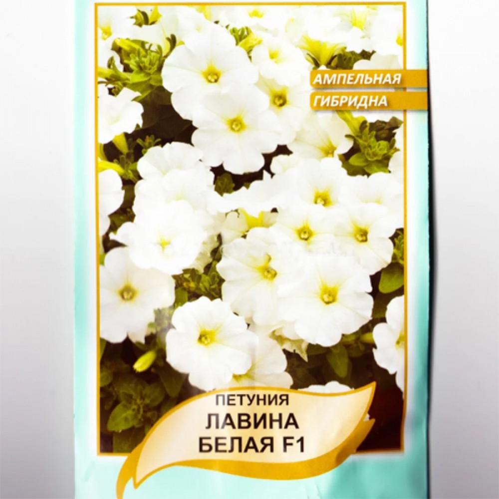 Петунія Афродіта F1 Біла 10 гранул