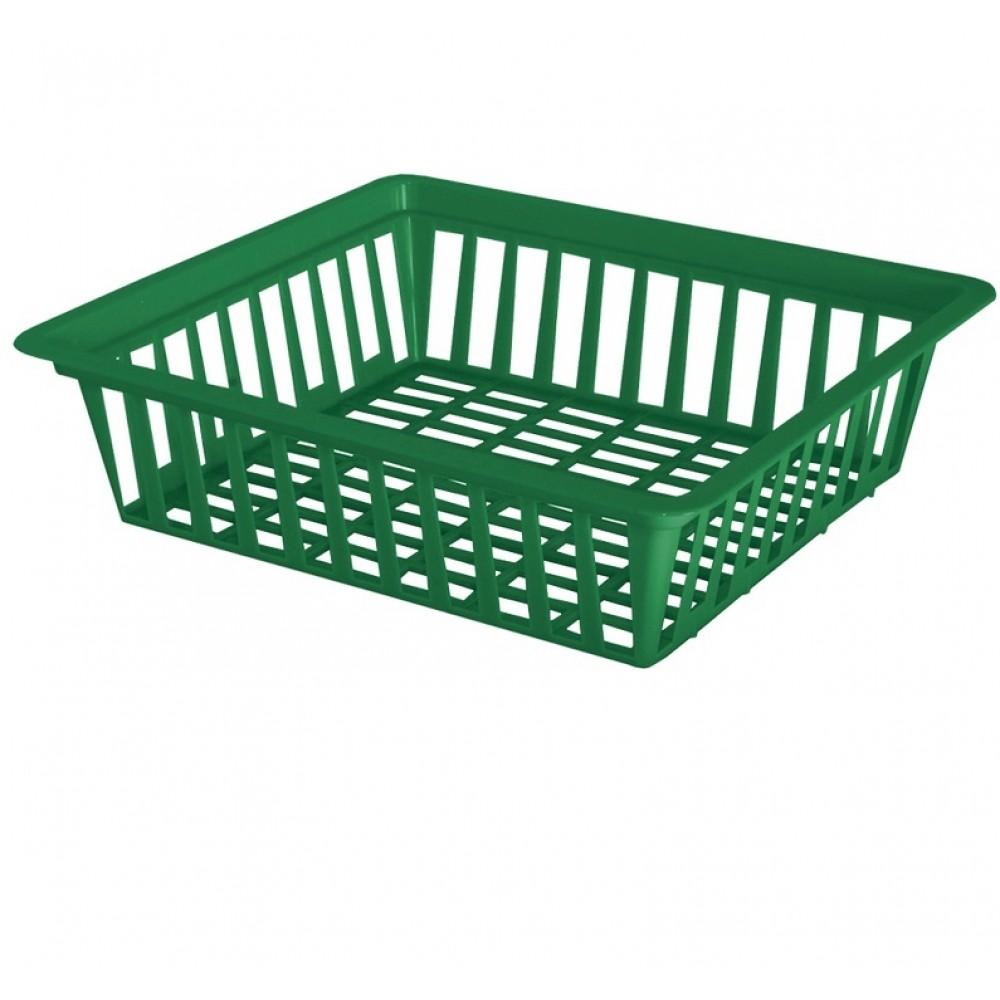 Кошик квадратний для цибулин діаметр 25,5 см