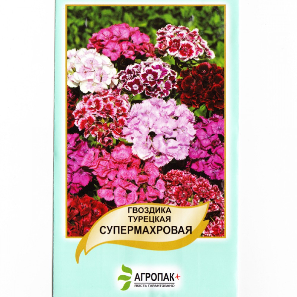 Гвоздика Турецька махрова 0,5 г (насіння)