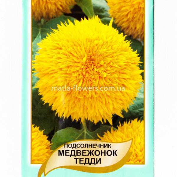 Соняшник Ведмедик Тедді 1 г (насіння)