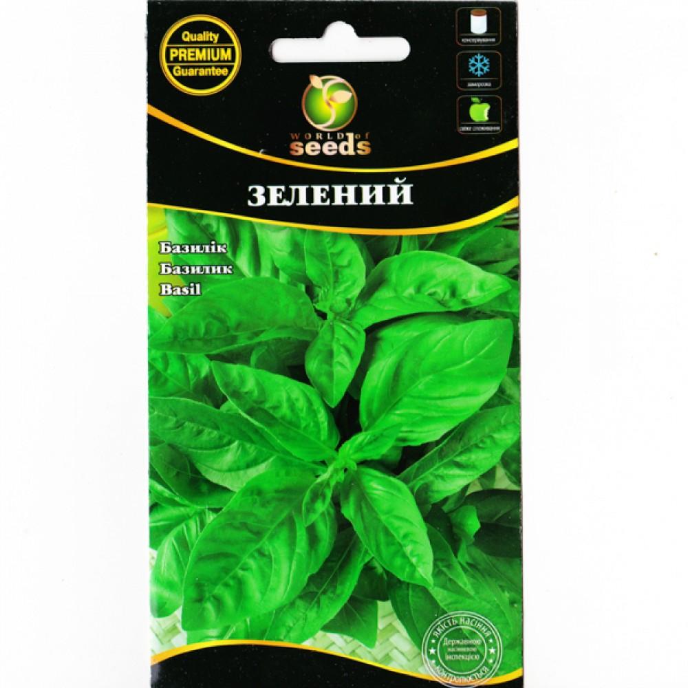 Базилік зелений 0,5 г (насіння)