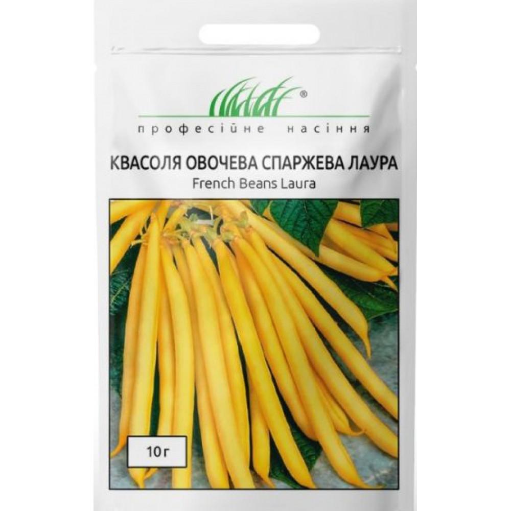 Квасоля спаржева Лаура жовта 10 г (насіння)