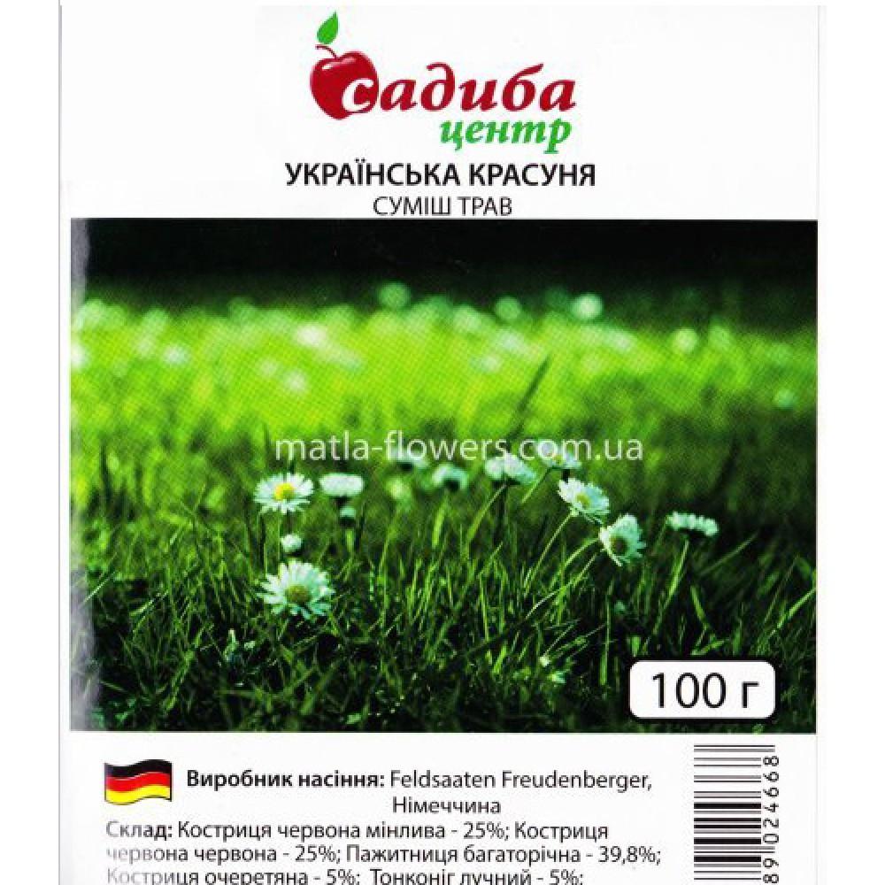 Газон Українська красуня 100 г (насіння)