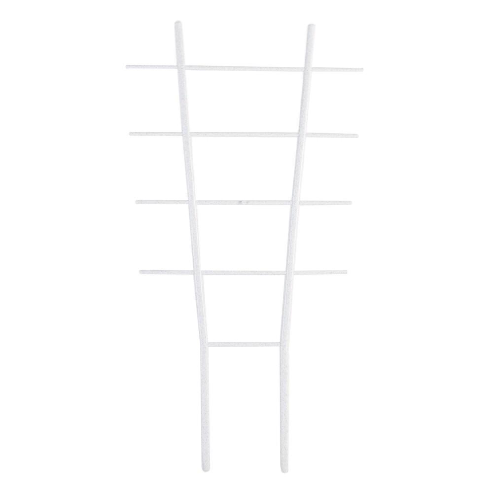 Драбинка для квітів L57см. (білий флок)