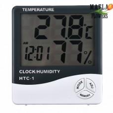 Термометр Гігрометр Цифровий HTC-1