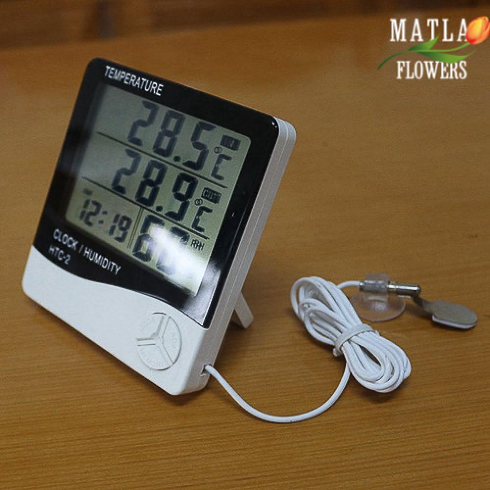 Термометр Гігрометр Цифровий HTC-2