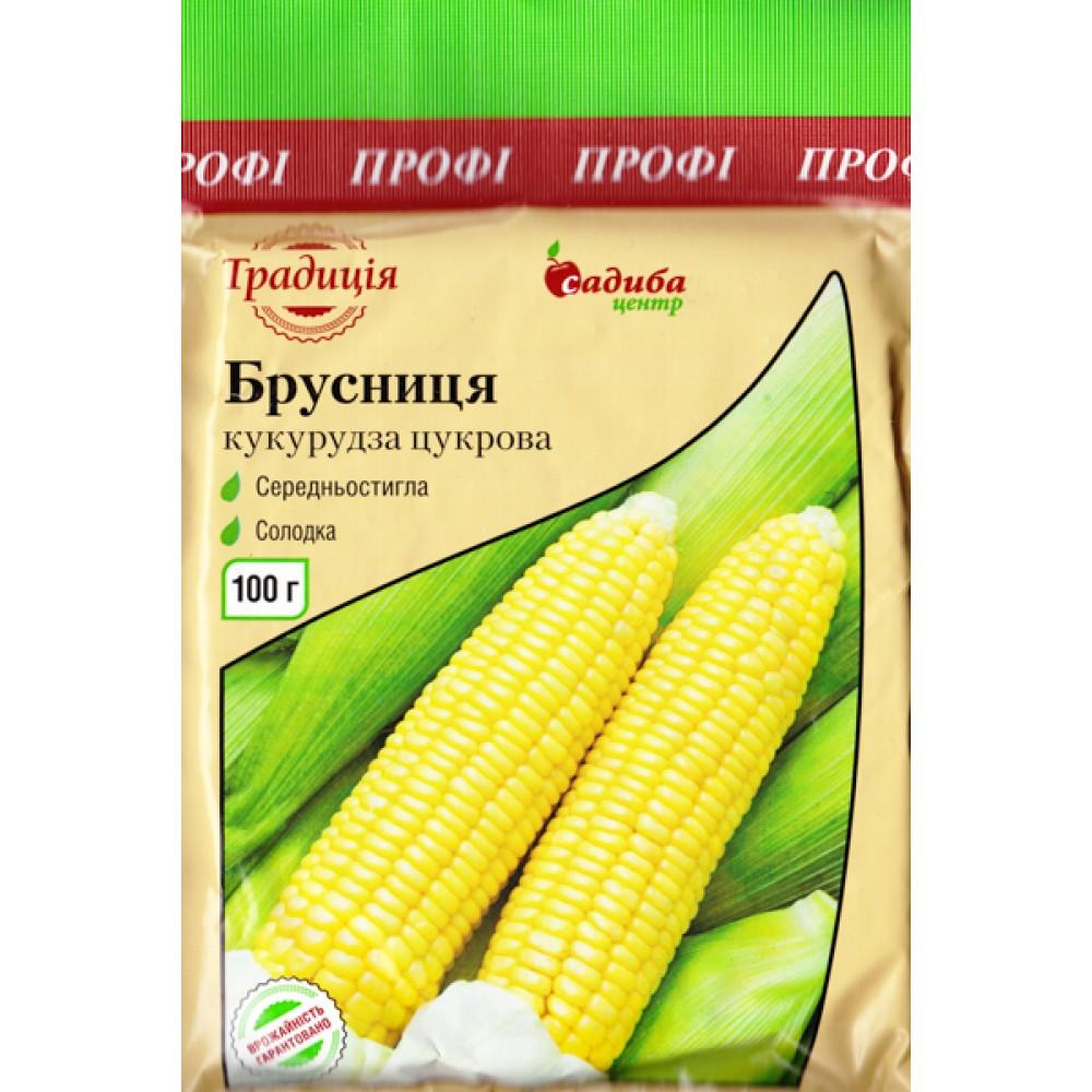 Кукурудза цукрова Брусниця 100 г