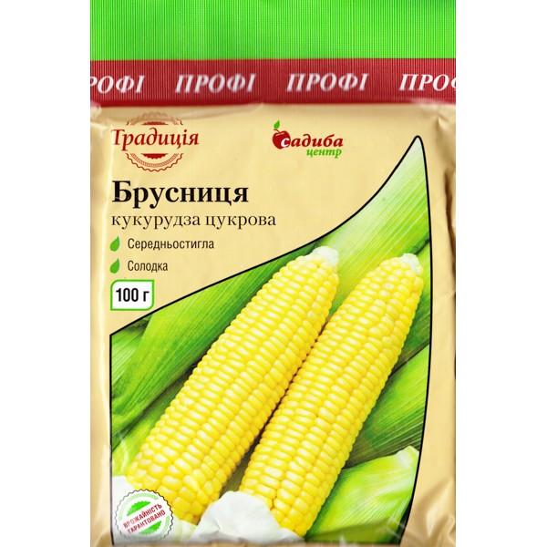 Кукурудза цукрова Брусниця 100 г (насіння)