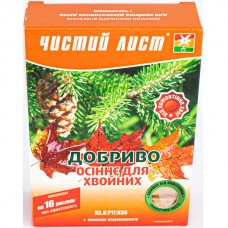 Удобрение Чистый лист осеннее для хвойных 300 г