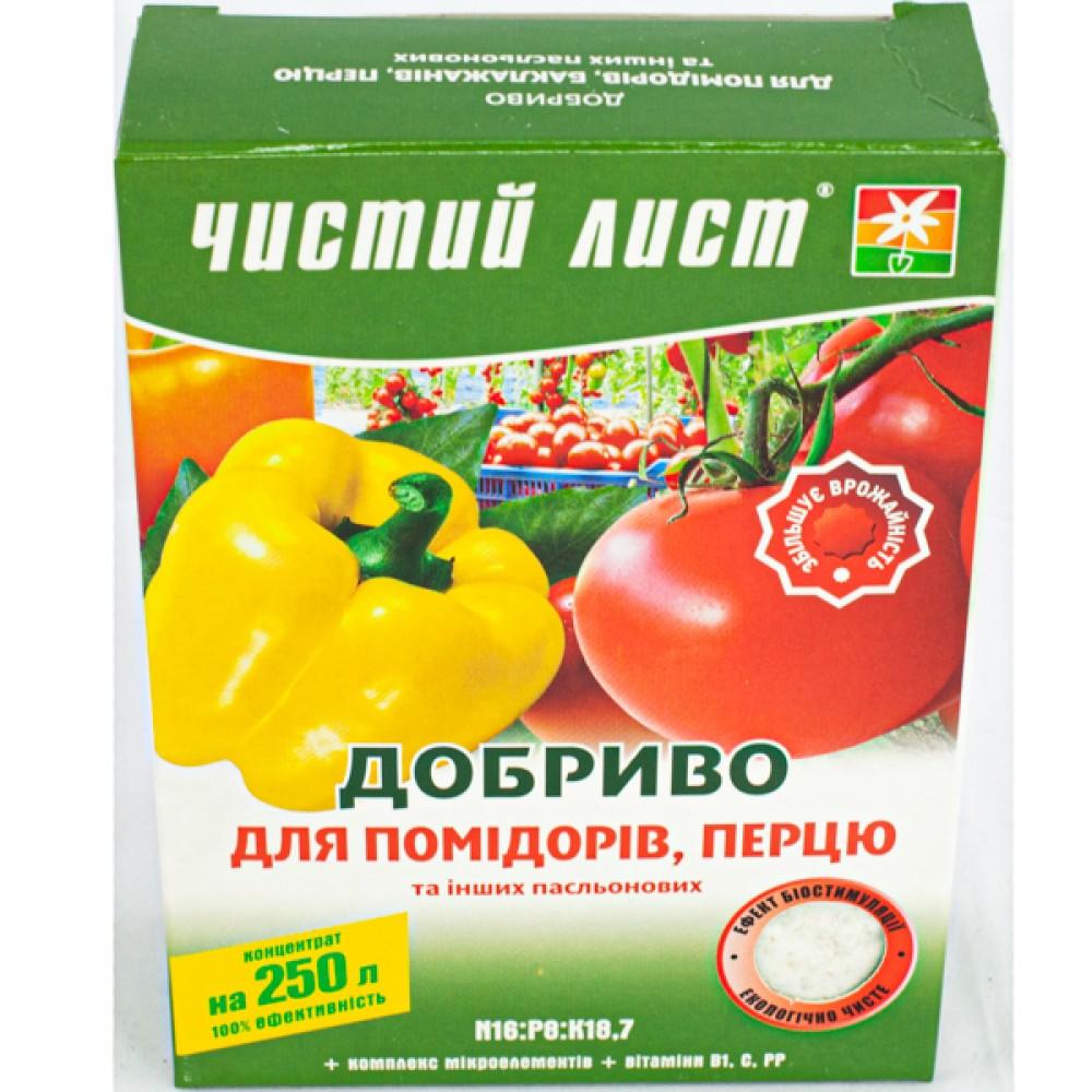 Добриво Чистий лист для помідорів і перцю 300 г