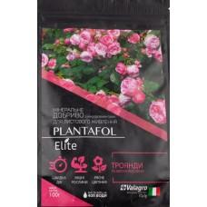 Добриво PLANTAFOL Elite для троянд та квітучих рослин 100 г