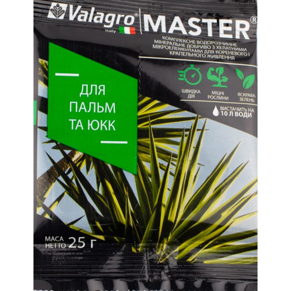 Добриво MASTER для пальм та юк 25 г
