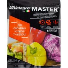 Удобрение MASTER для овощных культур универсал 25 г