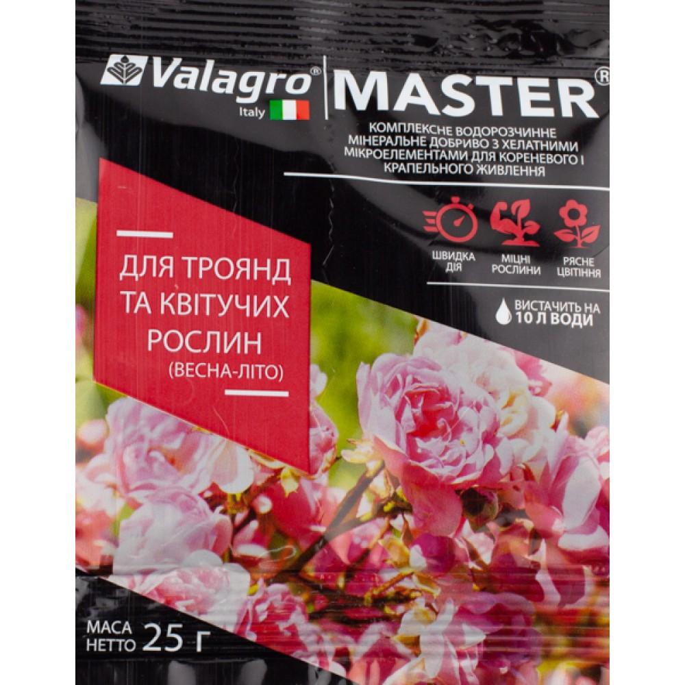 Добриво MASTER для троянд та квітучих рослин 25 г