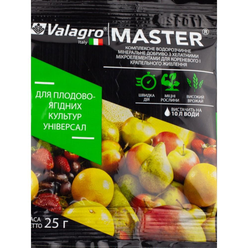 Добриво MASTER для плодово-ягідних культур універсал 25 г