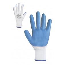 Рукавички з синім нітриловим покриттям Розмір 9