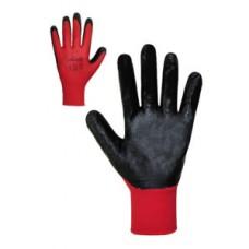 Рукавички з чорним нітриловим покриттям Розмір 10