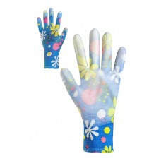 Рукавички жіночі синтетичні з поліуретановим покриттям Розмір 8