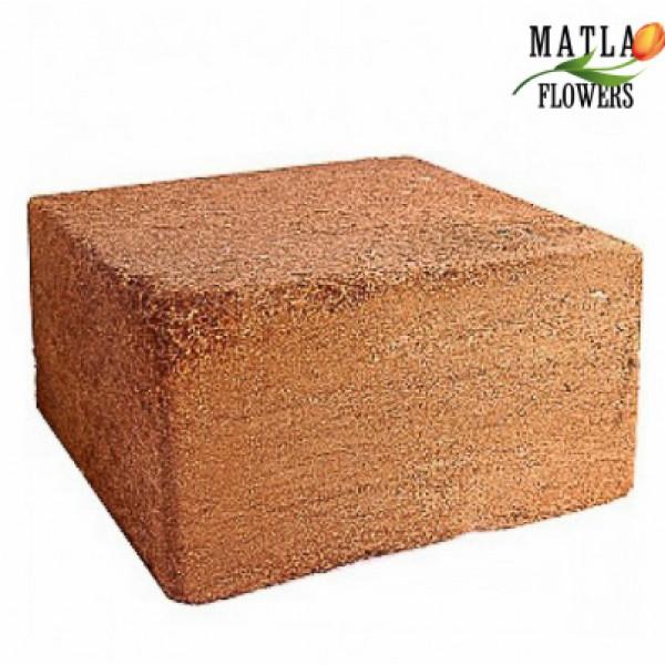 Кокосовий торф брикет коко-ґрунт 0,5 кг