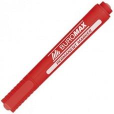 Маркер перманентный Buromax Красный 2-4 мм